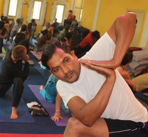 Yoga Teacher Vikash