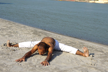 Matsyaendra Asana Variation First